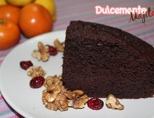 Bizcocho de Chocolate Tradicional