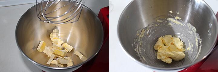 Bizcocho de Chocolate Tradicional Paso 1