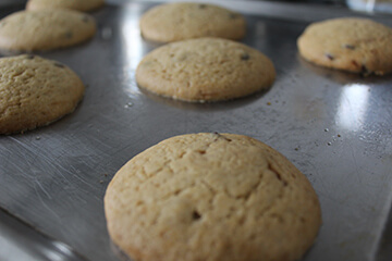 Cookies con Chips de Chocolate Paso 5