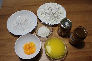 Ingredientes Alfajores