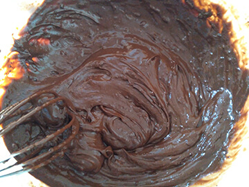 Mousse de Chocolate Paso 4