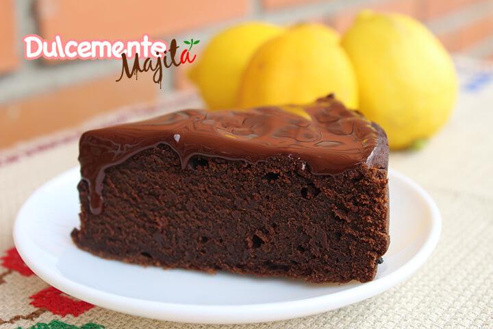 Brownie De Chocolate Y Café Sin Azúcar Sin Gluten Y Sin