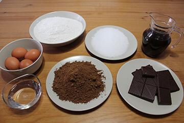 Brownie Choco Cafe Sin Sin Sin Ingredientes