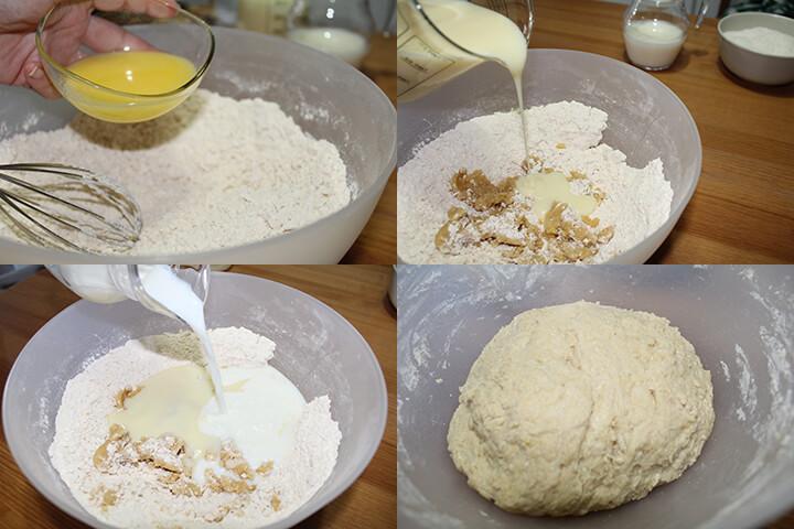 Pan de Coco y Leche Condensada Paso 4
